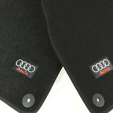 Black Carpet Floor Mats Front Rear 4 PCS OE For 2002-2008 Audi A4 S4 RS4 B6 B7