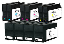 Reman HP 950Bk 951XL CMY Ink Cartridge for HP OfficeJet Pro 8600 Premium 10