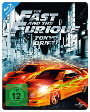 Blu-ray * THE FAST AND THE FURIOUS  - TOKYO DRIFT - STEELBOOK # NEU OVP +