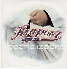 (BE421) Krapoel In Axe, Geanalizeerd - 2001 CD