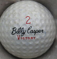 (1) BILLY CASPER VICTORY SIGNATURE LOGO GOLF BALL (CIR 1970) #2