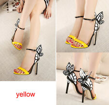 Hot Womens Butterfly Wings High Heels Vampire Diaries Party Dress Sandals Shoes