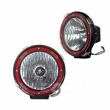 2pcs 9inch 100w Xenon HID Work Light Offroad Truck  Boat Spot Fog Lamp UTE Flood