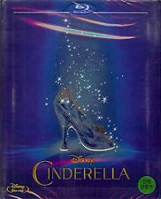 Disney Cinderella (2015) Limited Edition SteelBook w/SlipCover (Region A Korea)