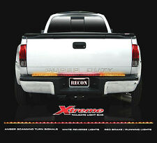 "RECON Lighting 49"" Xtreme Scanning LED Tailgate Bar Amber White & Red Universal"