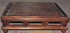 """26"""" old chinese huanghuali wood Weiqi Of Go Chessboard Chess Checkerboard Tables"""