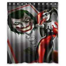 Customize Special Offer Custom Harley Quinn Waterproof Shower Curtain 60x72 inch