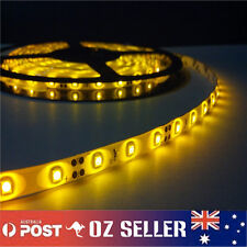 Waterproof Flexible 12V5M 3528 300SMD Amber LED Strip Light DRL Car Boat Camping
