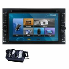 "Hot Double 2 Din 6.2"" Car DVD CD Player Touch Screen In Dash Stereo Radio+Camera"