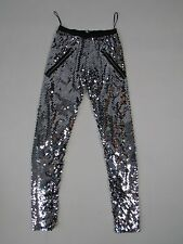 LES CHIFFONIERS SEQUIN LEGGINGS SIZE S