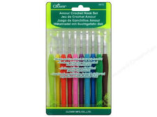 Clover Amour Crochet Hook Set 3672 - 10pc