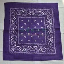 1 x Bandana Tuch versch. Farben 100% Baumwolle Kopftuch Halstuch Nickituch Schal