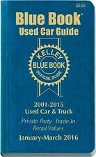 Kelley Blue Book Used Car Guide : Consumer Edition January - March 2016 by...