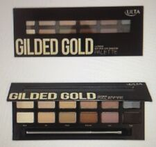 ULTA GILDED GOLD NATURAL EYE SHADOW PALETTE 12 DIFFERENT COLORS BRAND NEW
