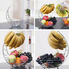 Banana Hook Hanger Fruits Tree Rack Basket Bowl Holder Kitchen Storage Container