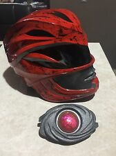 Power Ranger Movie 2017 Helmet Red Replica Scale 1:1 Wearable Prop With Morpher