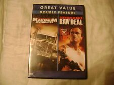 Maximum Overdrive Raw Deal Double Feature DVD