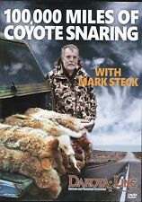 DVD-Steck-100,000 Miles of Coyote Snaring, traps, coyote fox