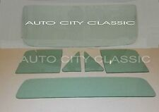 1967-1971 DODGE PICKUP TRUCK  WINDSHIELD VENTS DOORS & BACK GLASS ARE GREEN TINT