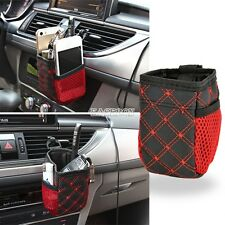 Auto Car Accessory Hanging Bag Drinks Phones Storage Pouch Holders Organizer EA