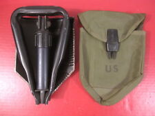 Vietnam US Army Light Weight Tri-Fold Entrenching Tool Folding Shovel & Carrier