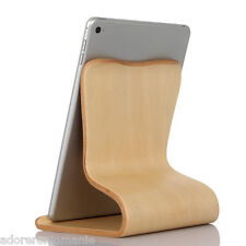 New Universal Wooden Stand Holder Desk Tablet Mobile Phone for iPad Mini Air 2