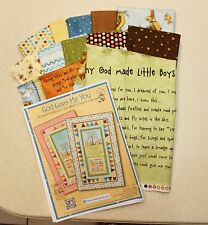 God Gave Me You Why God Made Little BOYS Quilt Kit by Henry Glass