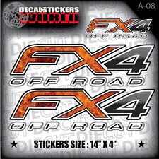 *NEW* 4X4 SPORT OFFROAD DECAL STICKER FIREFIGHTER FX4 F150 F250 F350 RANGER A-08
