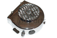 Gas Gy6 Scooter Moped Bike Engine Motor Cooling Fan Cover 50cc QMB139 Chrome