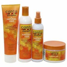 Cantu Shea Butter for Natural Hair Co-Wash, Curl Activator, Mist & LV-In Cream