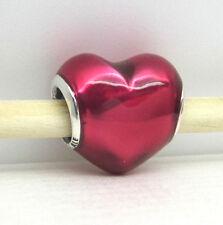 Authentic Pandora #791814EN62 In My Heart Charm
