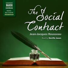 The Social Contract by Jean-Jacques Rousseau (2015, CD)