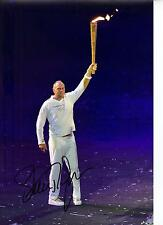 Steve Redgrave Genuine Hand Signed Autograph In Person 12X8 Photo LONDON 2012