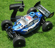 Redcat Racing BACKDRAFT Super Fast Buggy! NEW 1/8 Scale 4X4 NITRO Fast RC