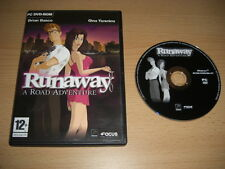 RUNAWAY 1 A Road Adventure Pc Cd Rom nm Point 'n' & Click -  FAST POST