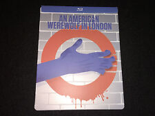 WATCHED 1x An American Werewolf In London Full Moon Edition Iconic Art Steelbook