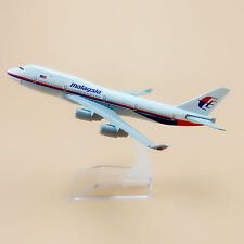 Air Malaysia Airlines Boeing 747 B747 Aircraft 16cm Airplane Model Plane Gift