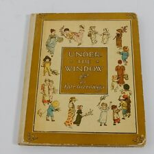 Kate Greenaway Under The Window Color Illustrations Antique Old Vintage