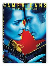 The Americans: Season 4 (DVD, 2017, 4-Disc Set) The Complete Fourth Season
