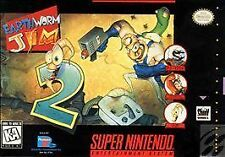 Earthworm Jim 2 (Super Nintendo Entertainment System, 1995)