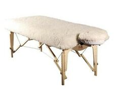 MASSAGE TABLE DELUXE FITTED FLEECE PAD SET - FACE COVER AND SHEET