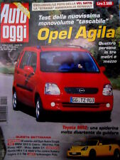 Auto Oggi 14 2000 Test Opel Agila. Toyota MR2. Test BMW 323 Ci Cabrio [Q72]