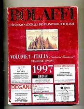 BOLAFFI- Catalogo Nazionale Francobolli Italiani 1997 Vol.1-Italia #Bolaffi 1996