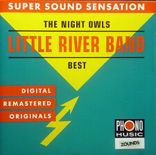 CD LITTLE RIVER BAND - best, night owls, Zounds audiophile