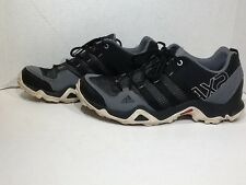 Adidas Mens Size 10 AX2 Breeze Gray Black Athletic Shoes Sneakers ZG-1207