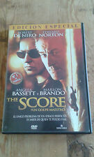 Como nuevo DVD película  THE SCORE ( UN GOLPE MAESTRO) -  Item For Collectors