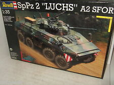 Revell 03040 SpPz 2 Luchs A2 SFOR Recce Armoured Car Model Kit in 1:35 Scale.
