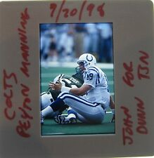 PEYTON MANNING INDIANAPOLIS COLTS TENNESSEE VOLS BRONCOS ORIGINAL SLIDE 23A