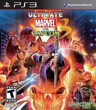 NEW Ultimate Marvel Vs. Capcom 3  (Playstation 3, 2011)