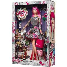 TOKIDOKI BARBIE DOLL 10TH ANNIVERSARY NRFB CMV57 BLACK LABEL